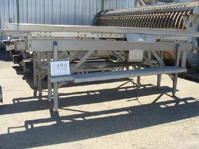 Used Allen 18'' Wide x 15' Long Vibratory Shaker/Conveyor