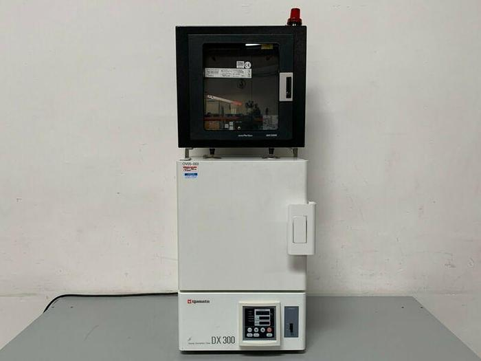 Used Yamato DX300 Gravity Convection Oven w/ Partlow MRC5000 Chart Recorder 115V