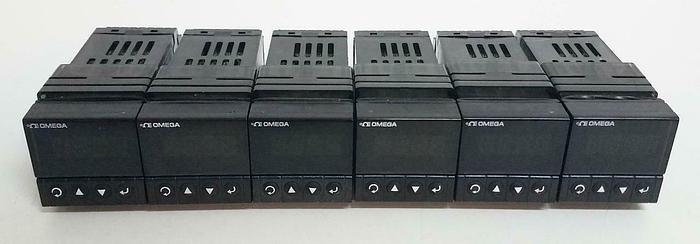 Used Omega Programmable Process & Temperature Input DPi16-C24 240V 4W LOT of 6 (4952)