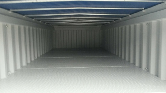 """20 'Container Open Top Soft Top 4'3 """""""