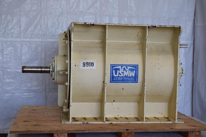 "Used 35 x 45 feeder, rotary feeder airlock 35"" x 45"", 35 x 45"" rotary airlock, 45"" x 35"" rotary valve U.S. metal works ER feeder, used metal rotating valve,"