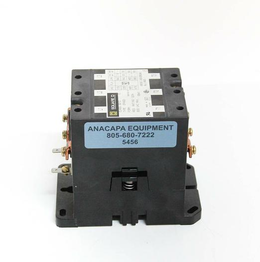 Used Square D DPA93 Contactor 24VDC 115-575VAC 120A Class 8910 E 8910DPA93V02 (5456)