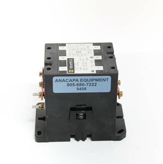 Used Square D DPA93 Contactor 24VDC 115-575VAC 120A Class 8910 E 8910DPA93V14 (5456)