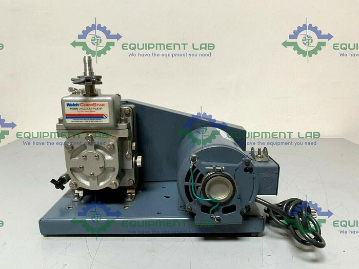 Used Welch Chemstar 1400N Vacuum Pump 115V