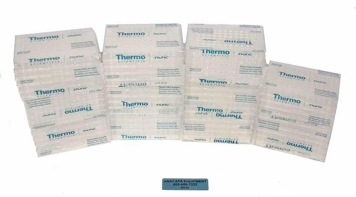 Thermo Scientific Nunc 96 Well Plate Flat Bottom 80040LE 0910 LOT OF 55 (8930)R