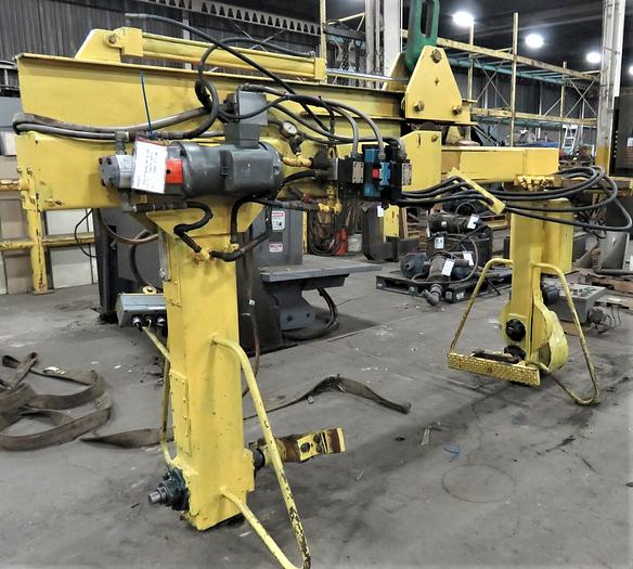 Used INTERNATIONAL MR-H AIR SET MOLD HANDLER (On Hold)