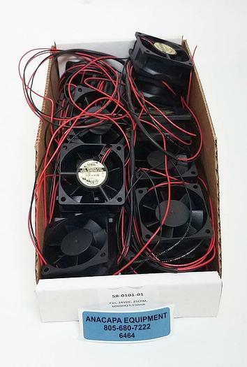 ADDA DC Brushless Fan AD0624HB-A70GL 60x60x25 25CFM 24VDC Lot of 25 NEW (6464)