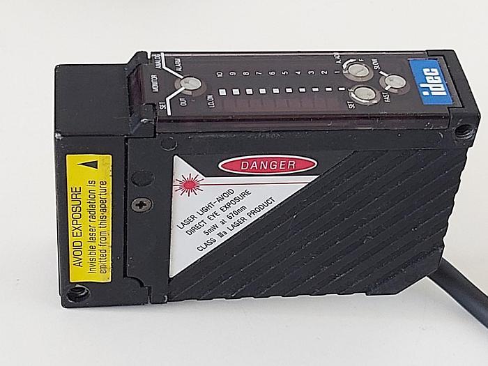 Gebraucht Laser Displacement Sensor, MX1C AL1, Idec gebraucht