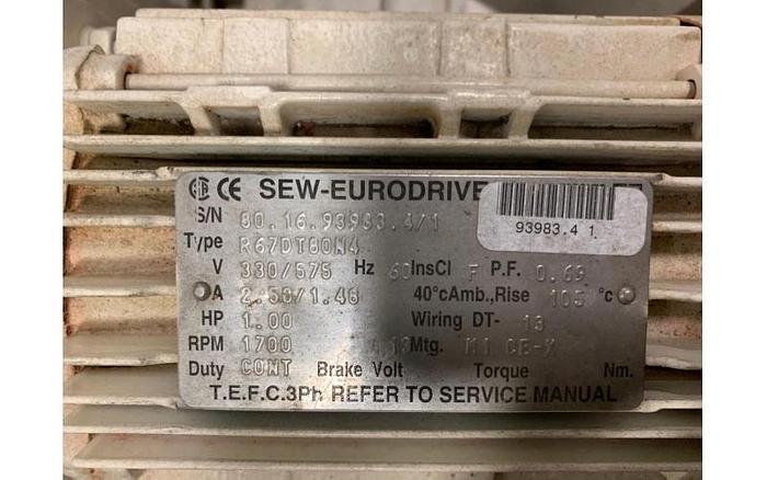 """USED SCREW CONVEYOR, 9"""" DIAMETER X 72'' LONG, STAINLESS STEEL"""
