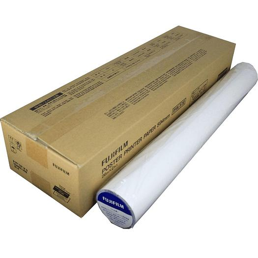 Red On White Direct Thermal Poster Printer Paper (DTP)  - 968628