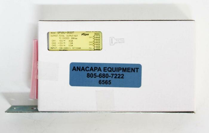 Volgen SP30U-0533T Power Supply Triple Output 5V / 15V /-15 VDC 30W NEW (6565)