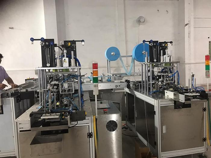 Used Surgical Mask Making Machinery
