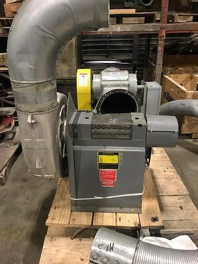 Used CINNCINNATI FAN TRIM BLOWER 2HP MOTOR
