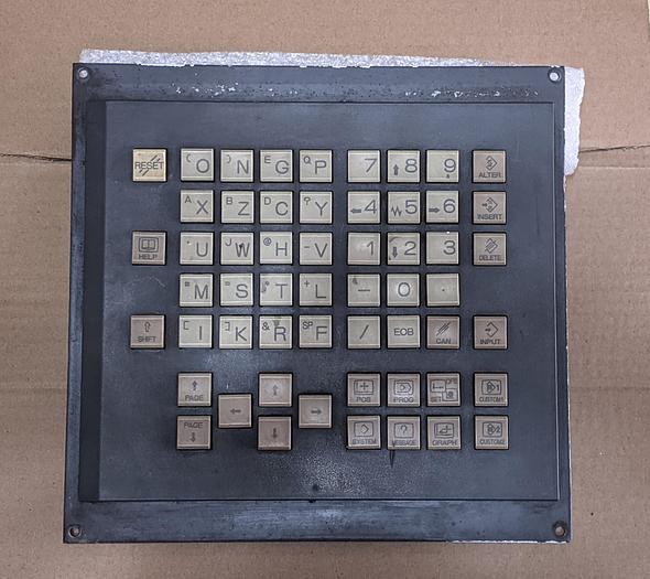 Used Fanuc A02B-0319-C125#T MDI Unit / Fanuc Keyboard