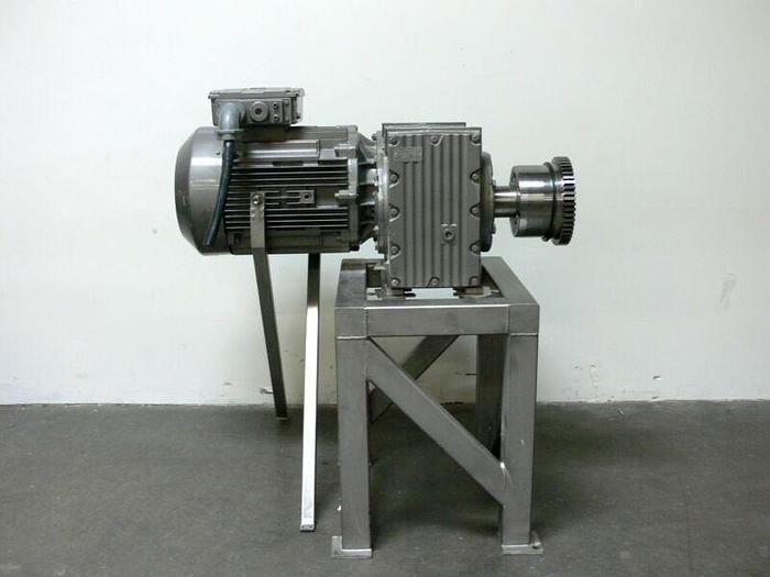 Used SEW Eurodrive Type F127DVE280S4 Industrial Gear w/ 100 HP Motor 58,000  lbs-In