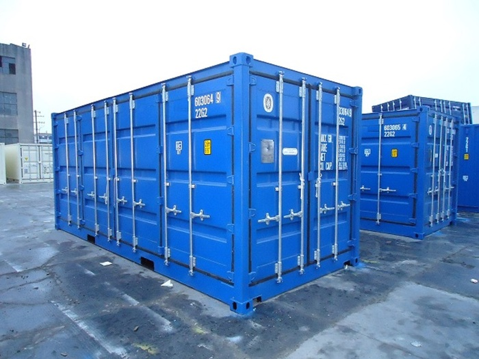 """20 'Container Full Side Access 2 Open Sides 8'6 """""""