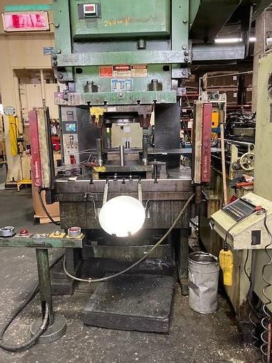 """Used 250 Ton Bliss OBI Press, 12"""" Stroke, 20-60 SPM"""