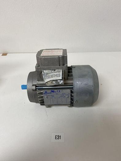 New No Box Motovario T63CC4 motor 230 460 volt 1/3 HP 11 mm shaft Warranty!
