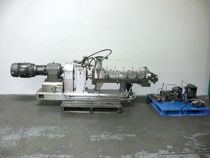 "Used Teledyne Readco 6"" Processor Continuous Paste Mixer w/ 15HP Motor & Controls"