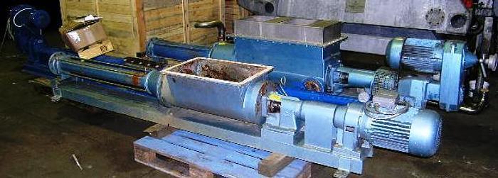 Used KIESEL, sludge pump, type SP10 4/FT
