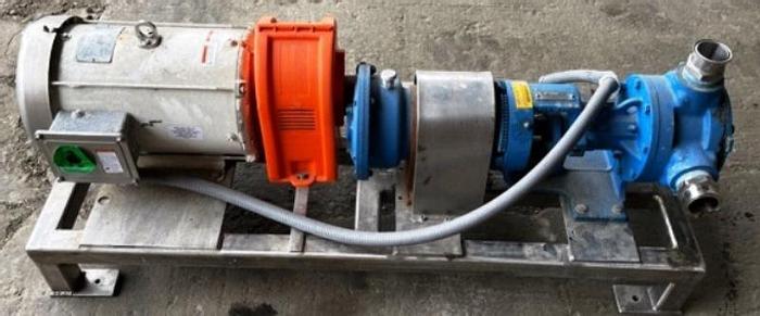 Used 10 HP. Used Viking Gear Pump Model K124A