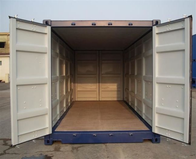 20 'Container Full Side Access All Side Open 8'6 ""