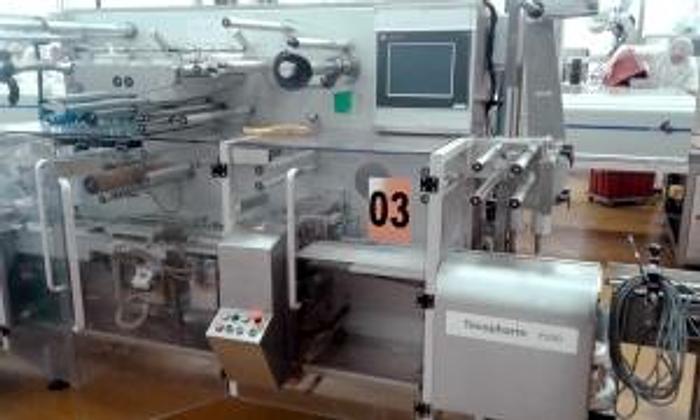 Used TEVOPHARM P200 FLOWPACK WRAPPER