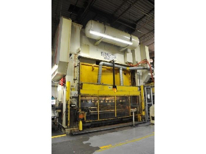"1200 ton Blow 144""x54"" Used Stamping Press"