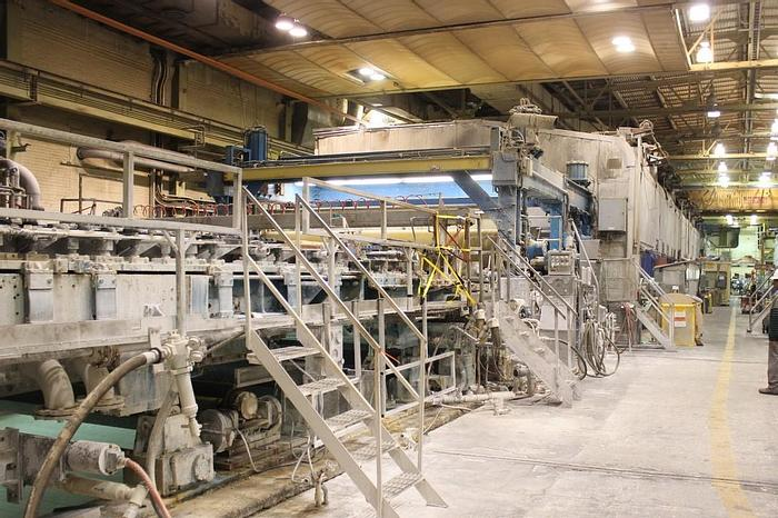 "Used 180"" (4.57M) BELOIT FOURDRINIER PAPER MACHINE"