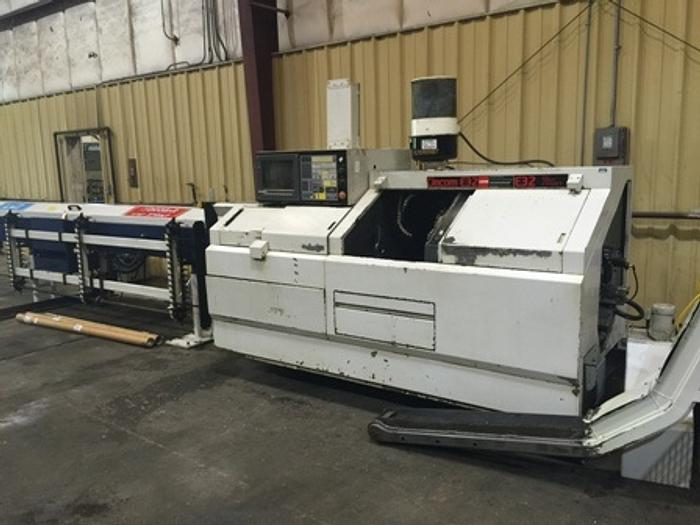 Citizen E-32 CNC Screw Machine With Chip Conveyor,Live Tools, Barfeed, 1999