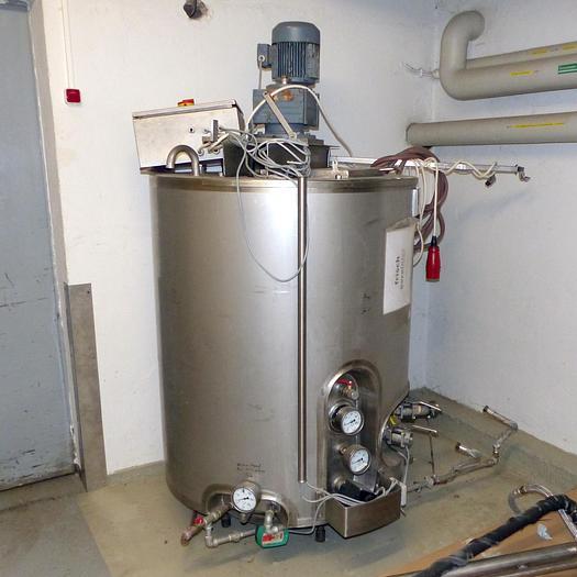 Gebraucht gebr. Edelstahl-Rührwerksbehälter ABAB Type RB-500