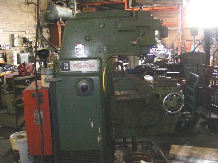 """12"""" x 62"""" Kearney & Trecker Model 307-12 Vertical Milling Machine 1141"""
