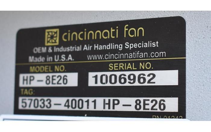 USED FAN, CENTRIFUGAL, CARBON STEEL, 25 HP