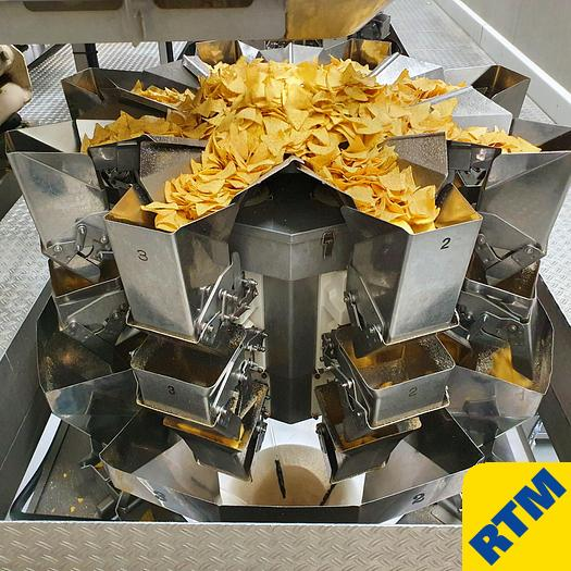 Used (3) Multihead Weighers
