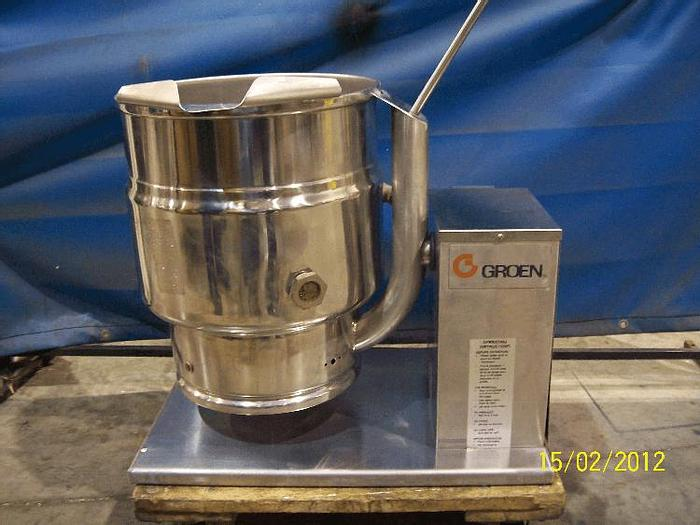 Used 5 GALLON GROEN SELF CONTAINED KETTLE – S/S – JACKETED