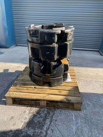 Used Tractor Wheel Weights