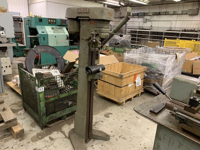 EXCELLO MODEL 174 CENTER LAPPING MACHINE