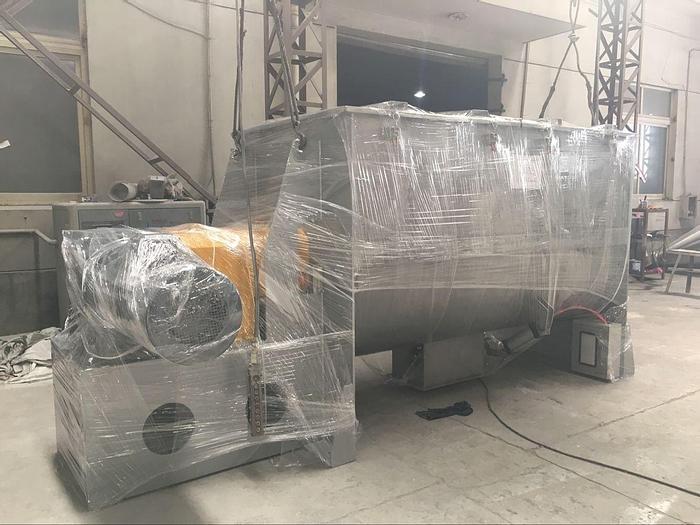 NEW 75 CU. FT. RIBBON BLENDER – T-304 S/S – 220V MOTOR (#9209)
