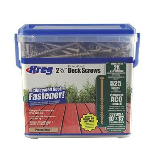 2x Protec-Kote™ Deck Screws - 525ct.