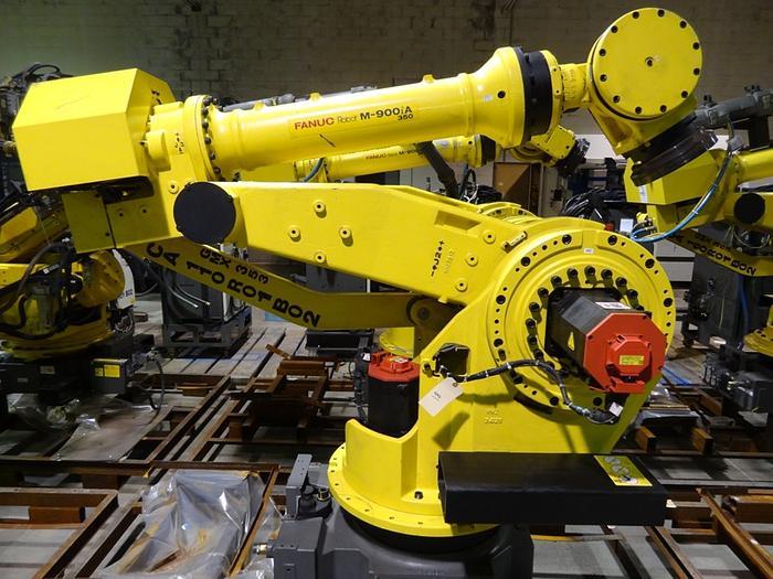 Used FANUC M-900IA/350 WITH R-30iA CONTROL