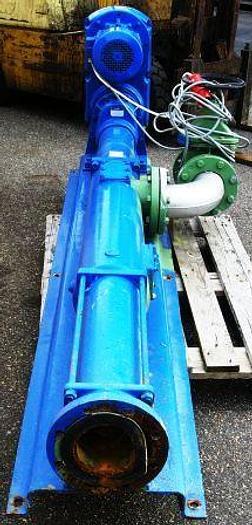 Used NETZSCH mono pump, type NE89A