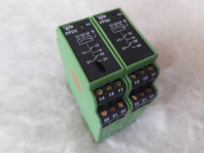 Phasenüberwachung, PFD 2 E12, BTR,  neuwertig