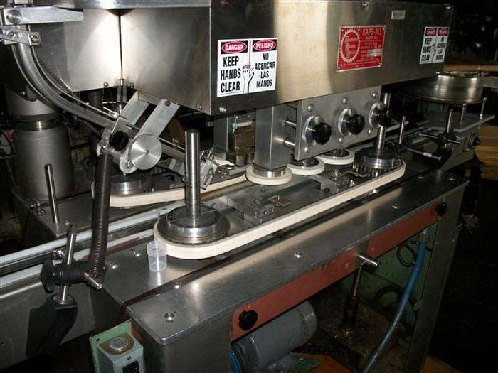 KAPSALL MODEL G 6 SPINDLE CAPPER