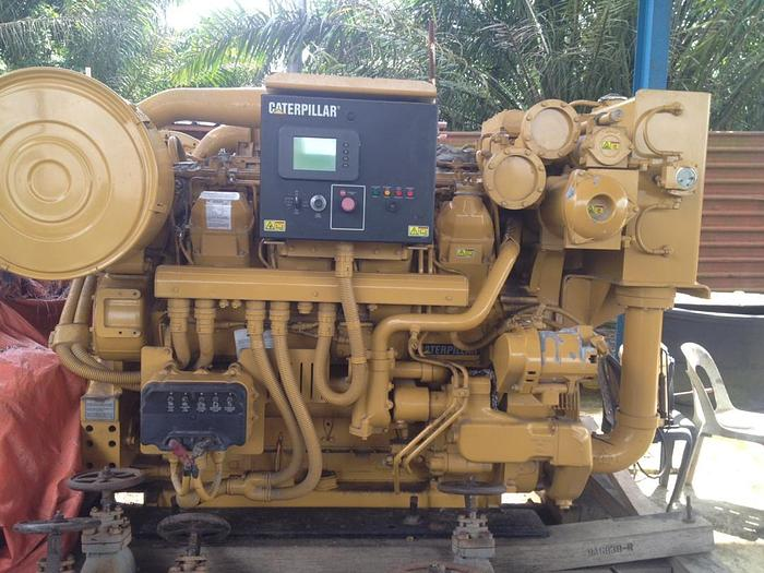 Caterpillar 3508 unused engine with reduction gear