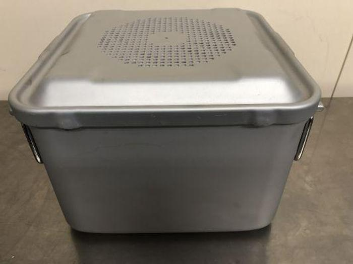 Used AESCULAP Case Sterilisation 285 x 285mm x 200mm