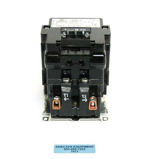 Used Square D 8502 SEO1 S Full Voltage AC Magnetic Contactor Type S + Auxiliary (7073