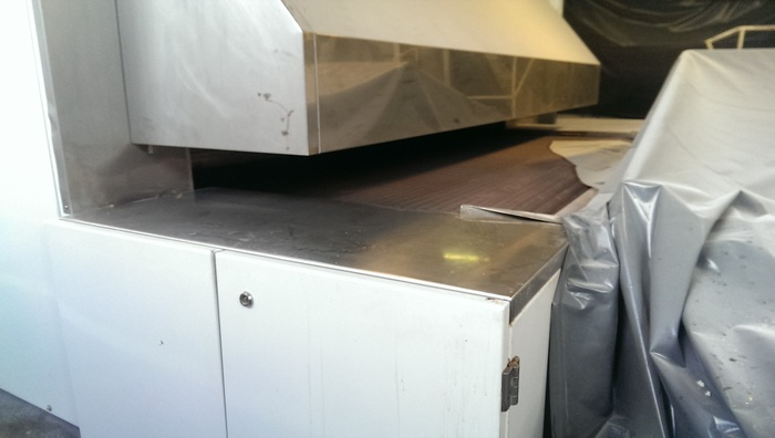 CIPA 2450mm wide TUNNEL OVEN