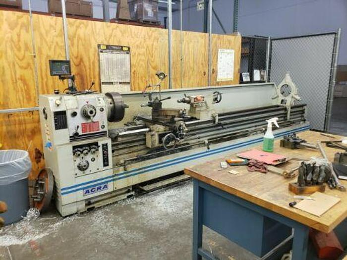 Used LATE MODEL ACRA MODEL ACH 26120 HIGH QUALITY LATHE IN IMPECCABLE CONDITION W DRO