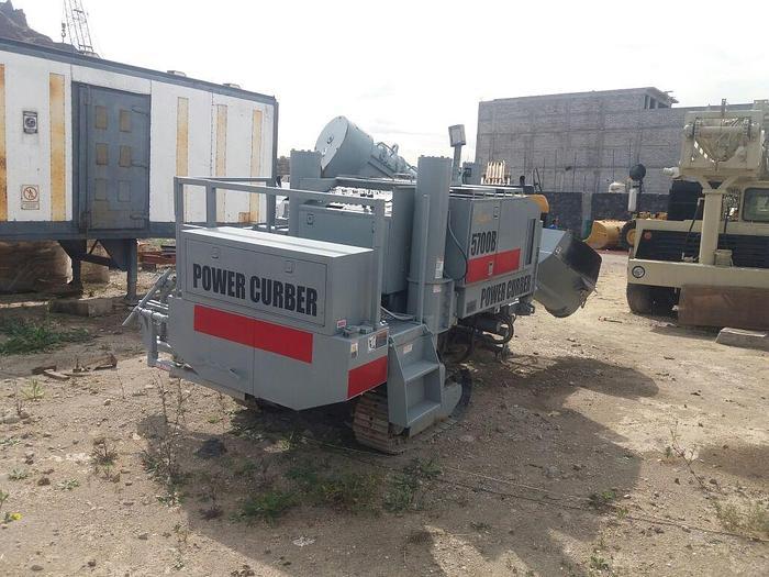 2002 POWER CURBER 5700