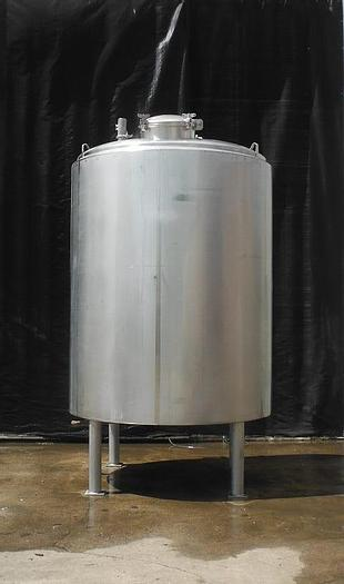 Used RECONDITIONED 1,500 GALLON CUSTOM METALCRAFT PROCESSOR – S/S – JACKETED (#9217)